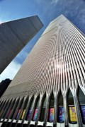 Skyscapers Framed Prints - World Trade Center  Framed Print by Allen Beatty