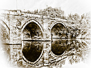 John Adams Prints - Yarm bridge Print by John Adams