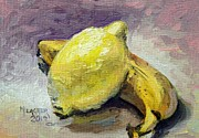 Spencer Meagher Prints - Yellow Fruit Print by Spencer Meagher