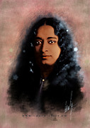 Old Digital Art Originals - Yogananda by Graphicsite Luzern