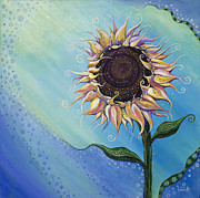 Soothing Paintings - You Are My Sunshine by Tanielle Childers
