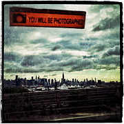 Nyc Digital Art Metal Prints - You Will Be Photographed Metal Print by Natasha Marco