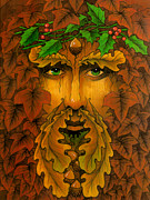 Druidic Prints - Yule King Print by Yuri Leitch