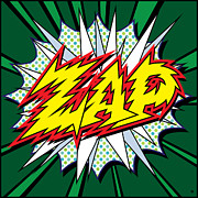 Vector Art Digital Art - Zap by Gary Grayson