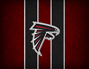 Atlanta Falcons Print by Joe Hamilton