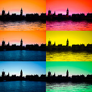 Big Ben Posters - Big Ben and the houses of Parliament  Poster by David French