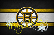 Captain Posters - Boston Bruins Poster by Joe Hamilton