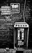 Retro Phone Photos - 10 cent Phone Call by Greg Jackson