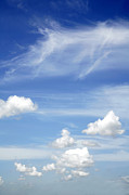 Bright Sky Prints - Clouds Print by Les Cunliffe