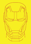 Iron Digital Art Prints - Iron Man Print by Caio Caldas