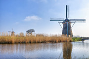 Holland Framed Prints - Kinderdijk Framed Print by Joana Kruse