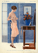 Featured Metal Prints - La Vie Parisienne  1925 1920s France Cc Metal Print by The Advertising Archives