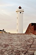Landsape Photos - Lighthouse by Werner Lehmann