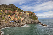 Harbour Framed Prints - Manarola Framed Print by Joana Kruse