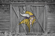 Vikings Photo Posters - Minnesota Vikings Poster by Joe Hamilton