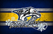 Skate Photos - Nashville Predators by Joe Hamilton