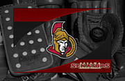 Senators Posters - Ottawa Senators Poster by Joe Hamilton