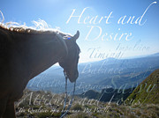 Horse Training Art Prints - 10 Qualities of a Horseman Print by SallyAnn Hamilton