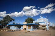 Sixty-six Acrylic Prints - Route 66 - Blue Swallow Motel by Frank Romeo