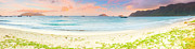 Summer Scene Framed Prints - Sunset panorama Framed Print by MotHaiBaPhoto Prints