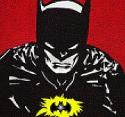 Bat Mixed Media Posters - 1000 images of Batman Poster by Robert Margetts