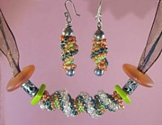 Salmon Jewelry - 1009 Autumn by Dianne Brooks