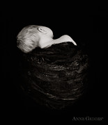 Black White Photography Prints - Untitled Print by Anne Geddes