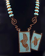 Rain Jewelry - 1052 Rainbird by Dianne Brooks