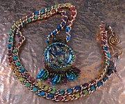 Autumn Jewelry - 1053 Tribal Campfire by Dianne Brooks