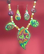 Tropical Island Jewelry - 1074 Island Time by Dianne Brooks