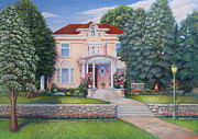 Denver Pastels Prints - 1076 Humbolt St Denver CO Print by Bruce MacBride