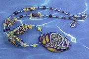 Sailing Jewelry - 1077 Silver Moon Over Oxbow by Dianne Brooks