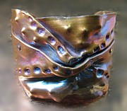 Organic Jewelry Originals - 1092 Riveting by Dianne Brooks