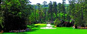 Bubba Metal Prints - 10th Hole - Augusta National Metal Print by Michael Graham