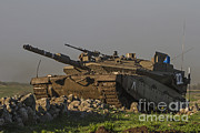 The Main Art - An Israel Defense Force Merkava Mark Iv by Ofer Zidon