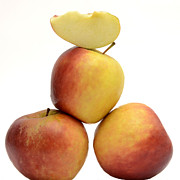 Balance Photo Prints - Apples Print by Bernard Jaubert