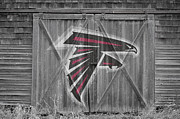 Falcons Art - Atlanta Falcons by Joe Hamilton