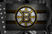 Skate Photos - Boston Bruins by Joe Hamilton