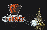 Nfl Framed Prints - Cleveland Browns Framed Print by Joe Hamilton