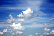 Cumulus Framed Prints - Clouds Framed Print by Les Cunliffe