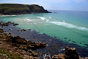 Sennen Cove Framed Prints - Cornwall Lands End. Framed Print by Subeer Suri