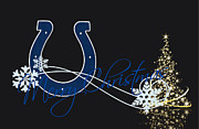Colts Prints - Indianapolis Colts Print by Joe Hamilton