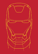 Illusttation Art - Iron Man by Caio Caldas