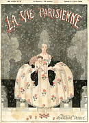 1910s Acrylic Prints - La Vie Parisienne 1918 1910s France Acrylic Print by The Advertising Archives