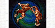 Mma Framed Prints - Mixed Martial Arts Framed Print by Joseph Ventura