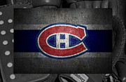 Montreal Canadiens Posters - Montreal Canadiens Poster by Joe Hamilton