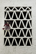 Grate Metal Prints - Old Doll Metal Print by Joana Kruse