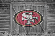 Nfl Framed Prints - San Francisco 49ers Framed Print by Joe Hamilton