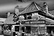 Woodman Framed Prints - The Woodman Pub Framed Print by David Pyatt