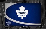 Maple Leafs Captain Prints - Toronto Maple Leafs Print by Joe Hamilton